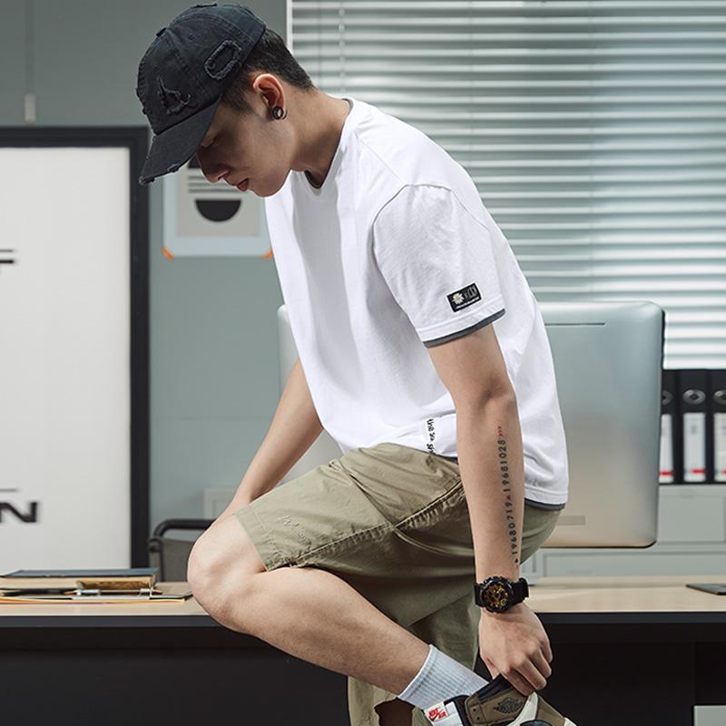 唐狮2021夏季新款短袖纯棉宽松t恤评价如何