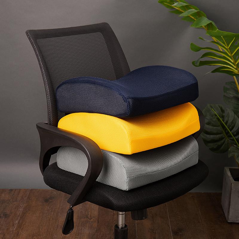 唐狮夏季办公室护腰靠垫背午睡神器学生座椅子靠垫记忆棉趴睡腰枕