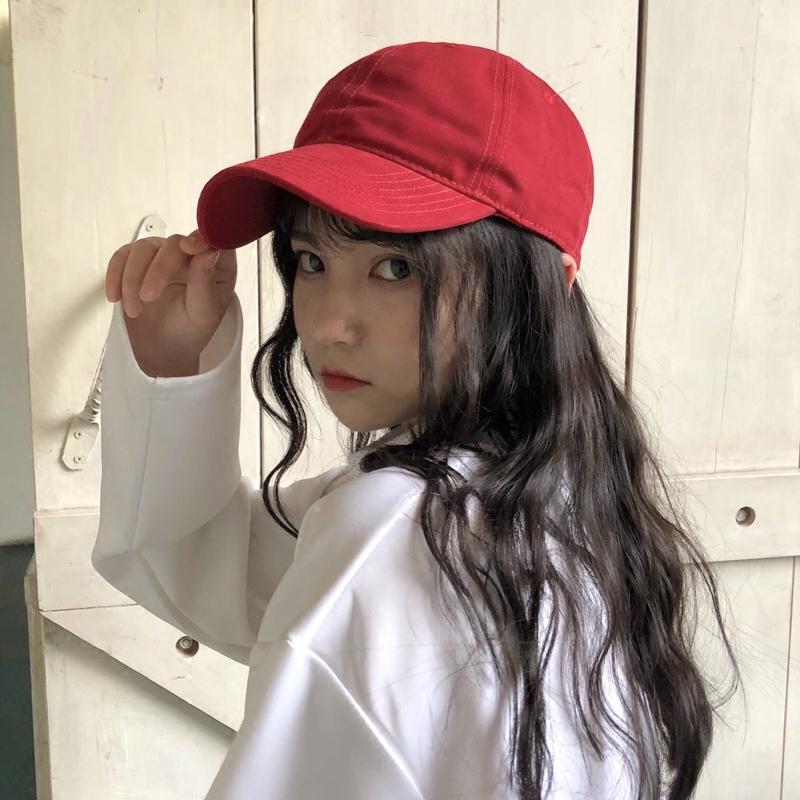 19.00元包邮夏天韩版纯色港风学生街头鸭舌帽