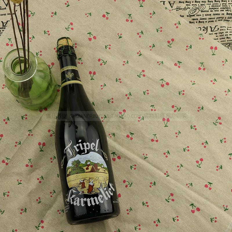 ベルギーの輸入ビールカード美里特三料ビール大瓶Tripel Karmelit 750 ml*3本