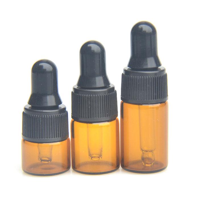 Mini essential oil dropper bottle 123 ML small capacity glass Cosmetic Perfume split bottle empty bottle dispensing tool