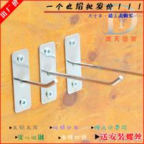 钩S金属小挂钩强力不锈钢厨房超市万能铁钩子勾S形挂钩S个20