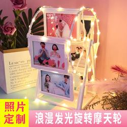 相册创意diy手工纪念册送闺蜜男友情侣照片定制 个性生日礼物结婚