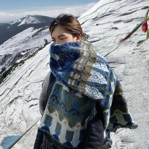 雪山旅游外搭2021送礼围巾秋冬季女韩版百搭学生ins少