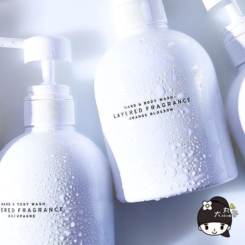斩男香!日本layered  Fragrance蕾野香氛香水沐浴露液乳持久留香