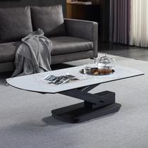 多功能升降茶几餐桌两用客厅一体式家用小户型创意式极简岩板茶几
