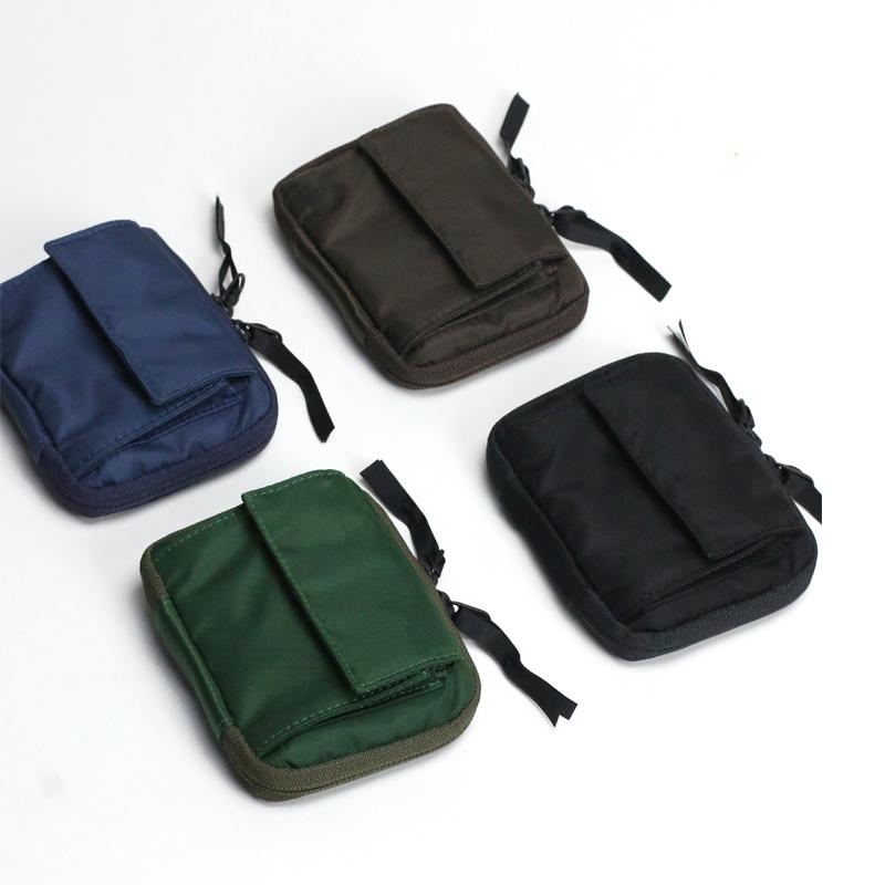 Change bag fashion brand personalized mini card bag key bag nylon small PURSE Coin Bag men and women zipper short ins