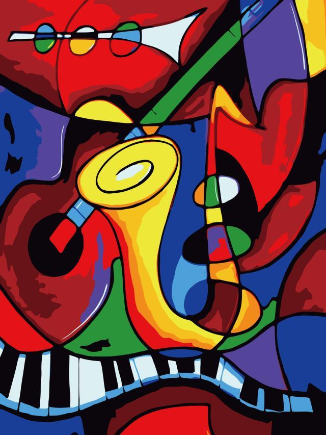 Цифровая живопись DIY Pack email специальные руки 3040 пейзаж декоративная живопись живопись комнаты детей мультфильм мир музыки