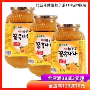 领10元券购买韩国进口比亚乐1150gx3瓶柚子茶