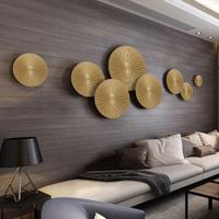轻奢墙饰新中式客厅沙发背景墙面装饰餐厅立体壁饰墙饰床头壁挂