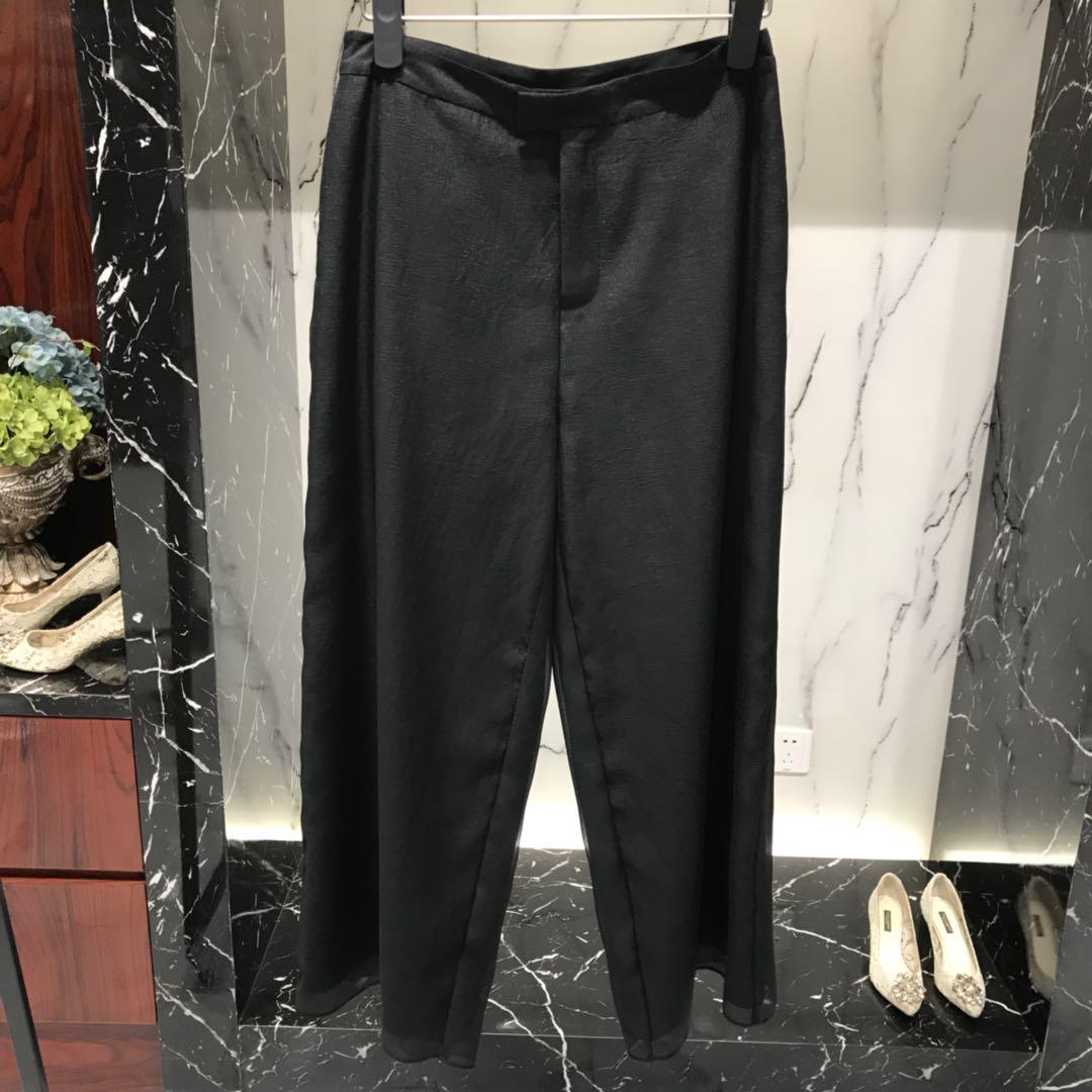 轻奢女装设计师品牌专柜精品长裤GQ03206