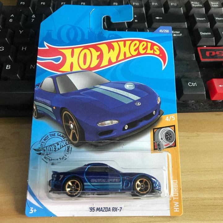 2020-43号Hotwheels小型スポーツカーマツダ95 MAZDA RX-7 2020 Gロット