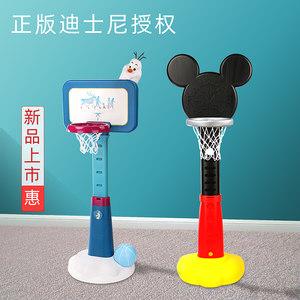 迪士尼儿童篮球架室内可升降宝宝3-6岁男孩家用投篮框架小孩玩具2