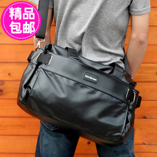 Japan and South Korea trend of men and men s soft leather shoulder Mobile Messenger leisure and business travel cross section