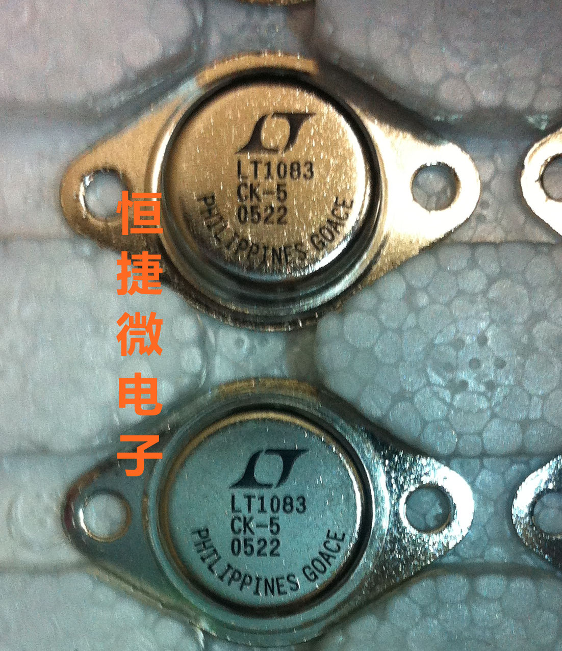 【一级代理】全新原装 LT1083CK-5 TO-3 LINEAR 正品 现货