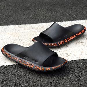 拖鞋男士夏季潮流韩版情侣个性一字拖居家用托鞋室内外穿沙滩凉鞋
