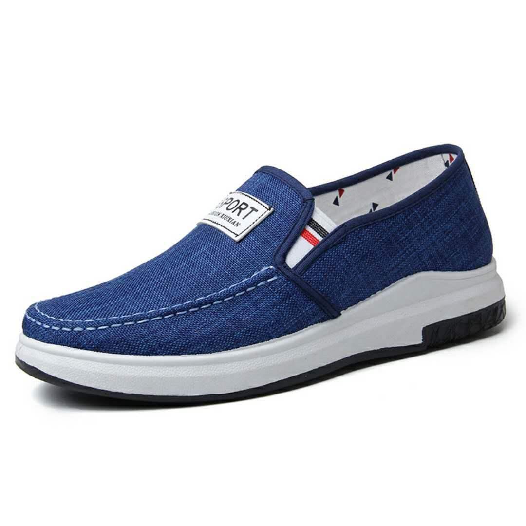 销四季男鞋休闲运动鞋男士上班工作做事穿鞋子普通便宜板鞋布鞋TH