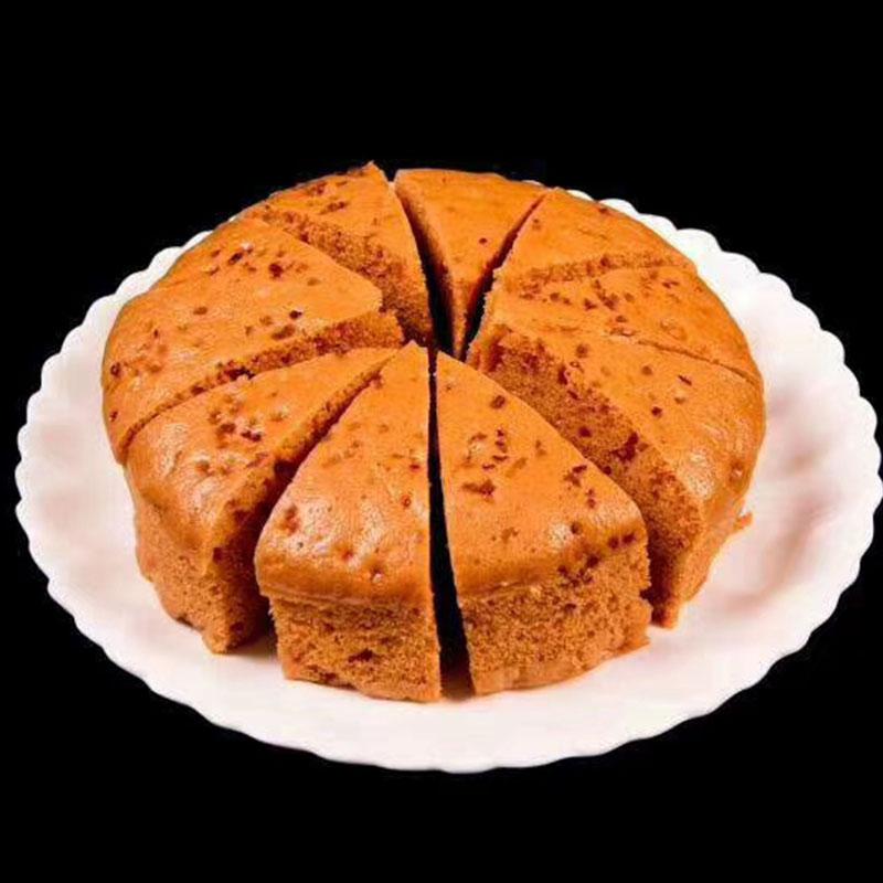 何老幺红糖发糕400克*2袋 手工传统米糕早餐餐饮商用糕点点心