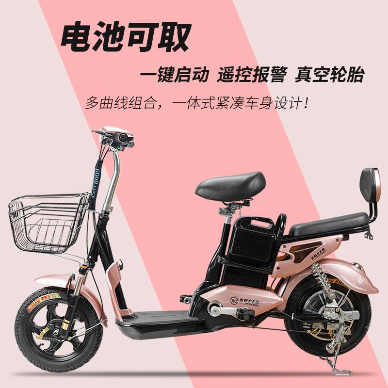 新款国标电动电瓶车48v电动自行车锂电代步新日绿源小鸟小刀同款12月12日最新优惠