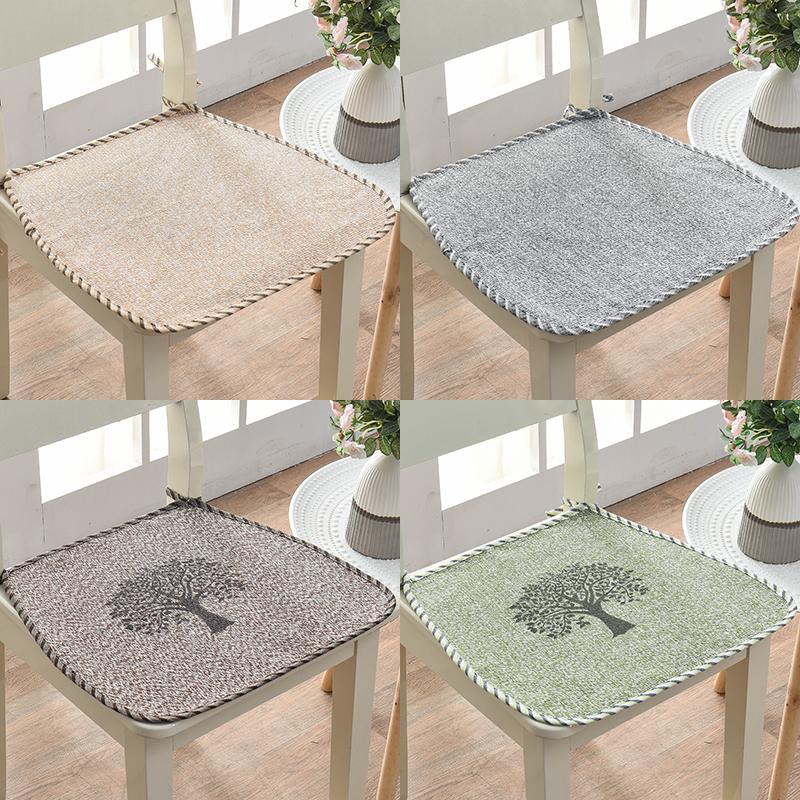 马蹄形椅子垫子夏天办公室薄餐桌椅(非品牌)