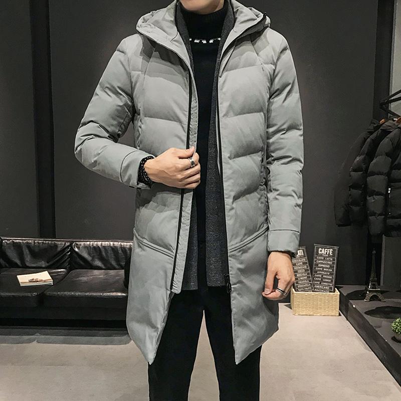 2019中长款棉衣男士加厚外套新款冬季棉袄潮流上衣服韩版保暖棉服
