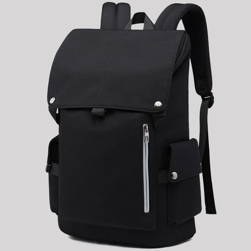 New Korean backpack mens backpack fashion trend leisure travel business computer bag light and simple student schoolbag