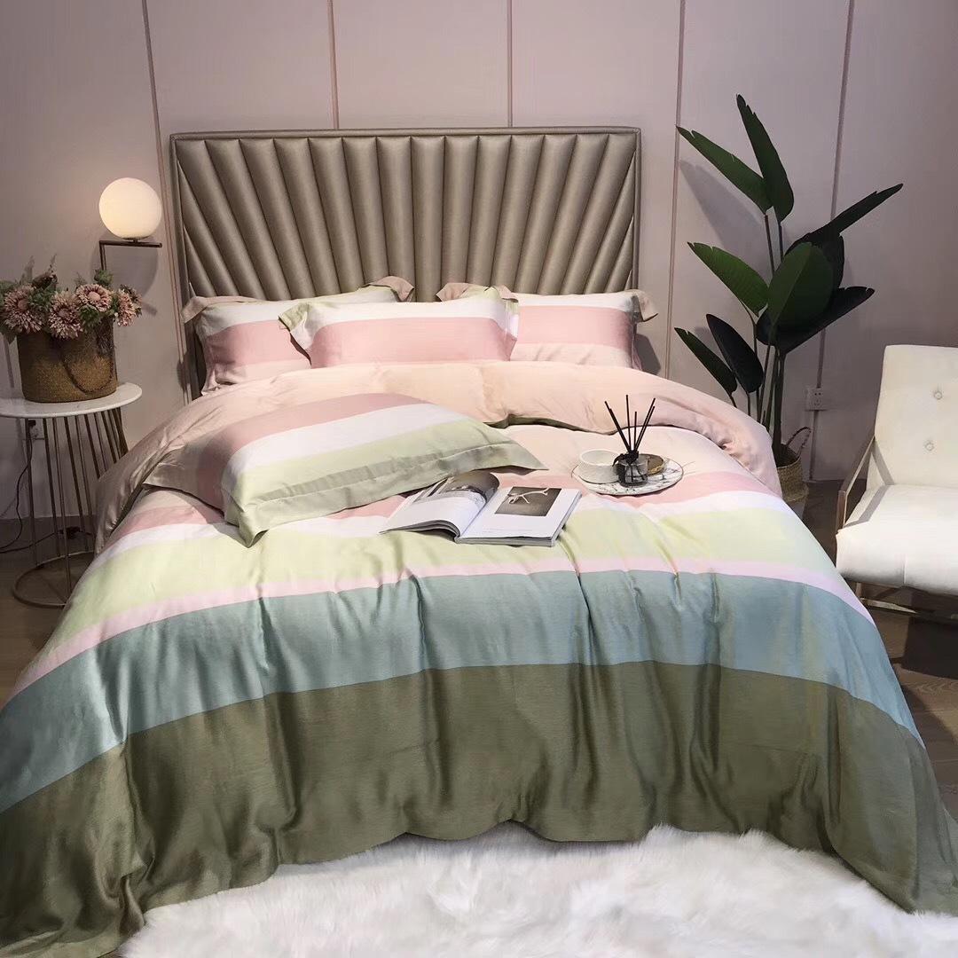 80奥地利兰精天丝数码印花四件套高端寝具床上用品家纺