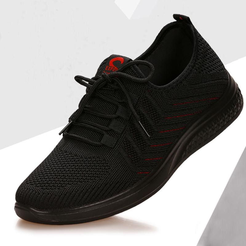 2021春季新款老北京布鞋男士休闲鞋透气防臭软底轻便系带男单鞋潮