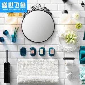黑白纯彩色卫生间瓷砖厨房内墙地铁砖北欧简约背景墙釉面砖75x150