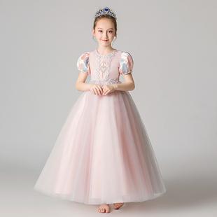 冰雪奇緣女童蘇菲亞艾莎公主愛莎裙子兒童愛紗索菲亞演出服表演冬