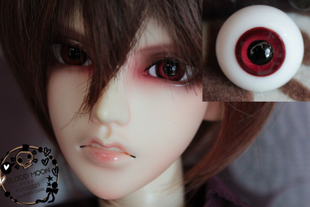 w7 bjd sd sixth of the four three pointers opening the eyes can children doll glass eyes 12mm14mm16mm