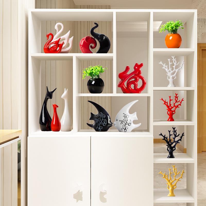 家居装饰品创意现代电视红酒柜玄关