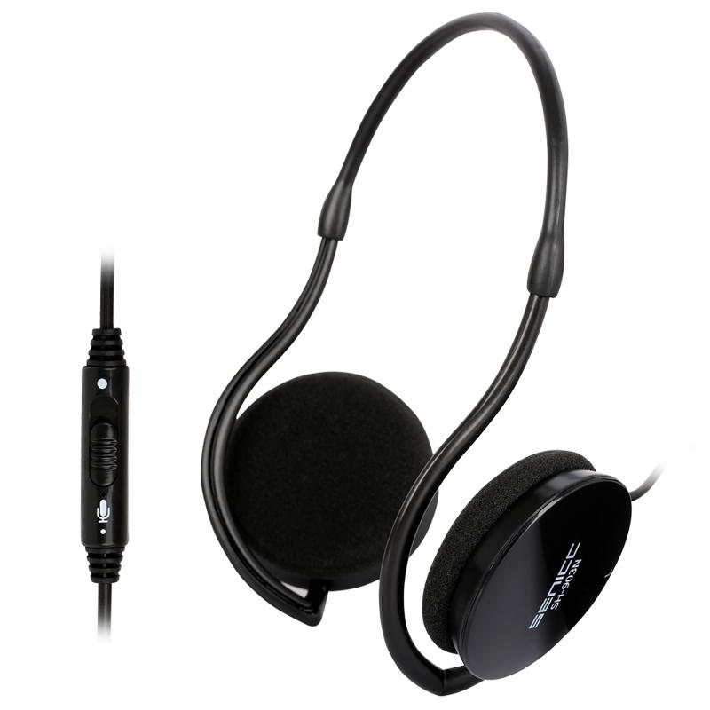挂耳式音乐运动手机耳麦 重低音耳挂式头戴式声丽 SH-903 N时尚后挂耳机 电脑头戴式耳麦 重低音音乐