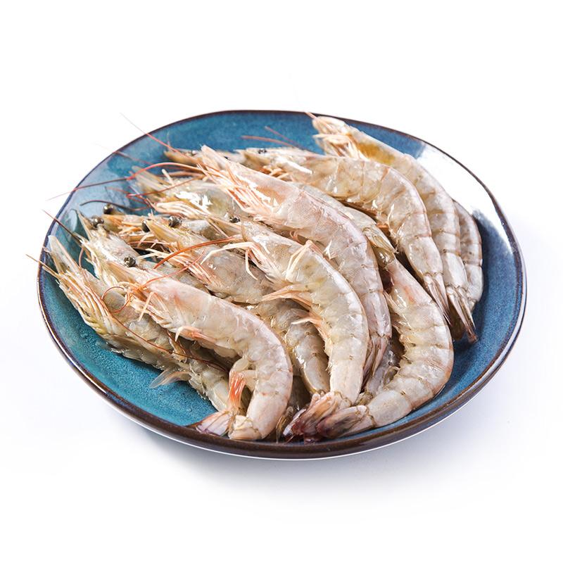 原膳帶頭生凍南美白蝦 20隻 包 400g 大蝦 海鮮水產 生凍白蝦