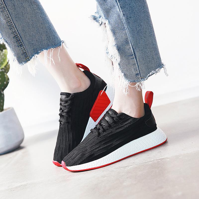 新款休闲运动<font color='red'><b>鞋</b></font>女夏百搭透气跑步<font color='red'><b>鞋</b></font>厚底<font color='red'><b>网</b></font><font color='red'><b>鞋</b></font>