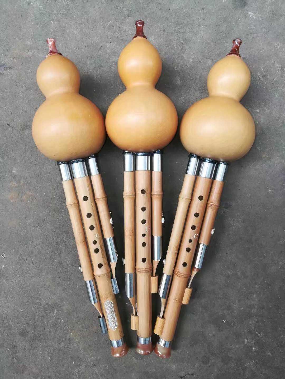 Golden bamboo, natural gourd gourd silk, C-mode, BBA transfer box, Chinese knot bamboo tube will never burst