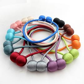 一对磁铁装饰窗帘扣配件绑带束带可爱创意扎绳简约现代绑绳子系带图片