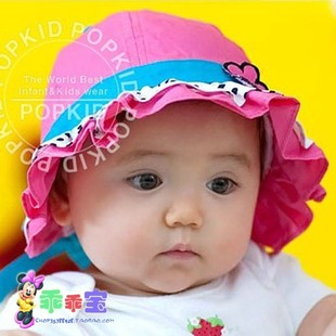 Switch clearance female baby pots hat baby hat child hat child spring and summer girls sun hat lace cap