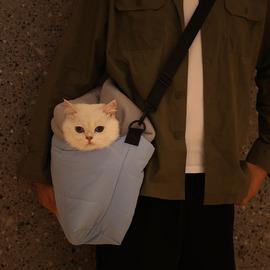 猫包猫咪背包外出便携包猫咪出门携带猫袋宠物外出斜挎包猫咪用品