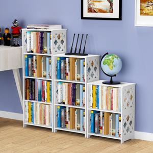 简易学生书架现代简约多层置物架落地儿童家用组合创意收纳小书柜