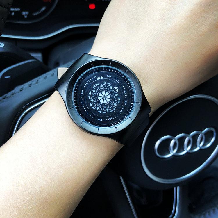 新概念时尚个性创意手表男女学生韩版简约潮流ulzzang网带时装表