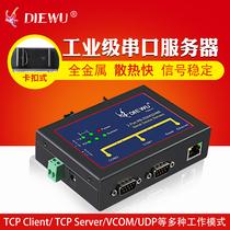 M511USR有人串口服务器协议转换TCP转ASCIIRTU网关Modbus
