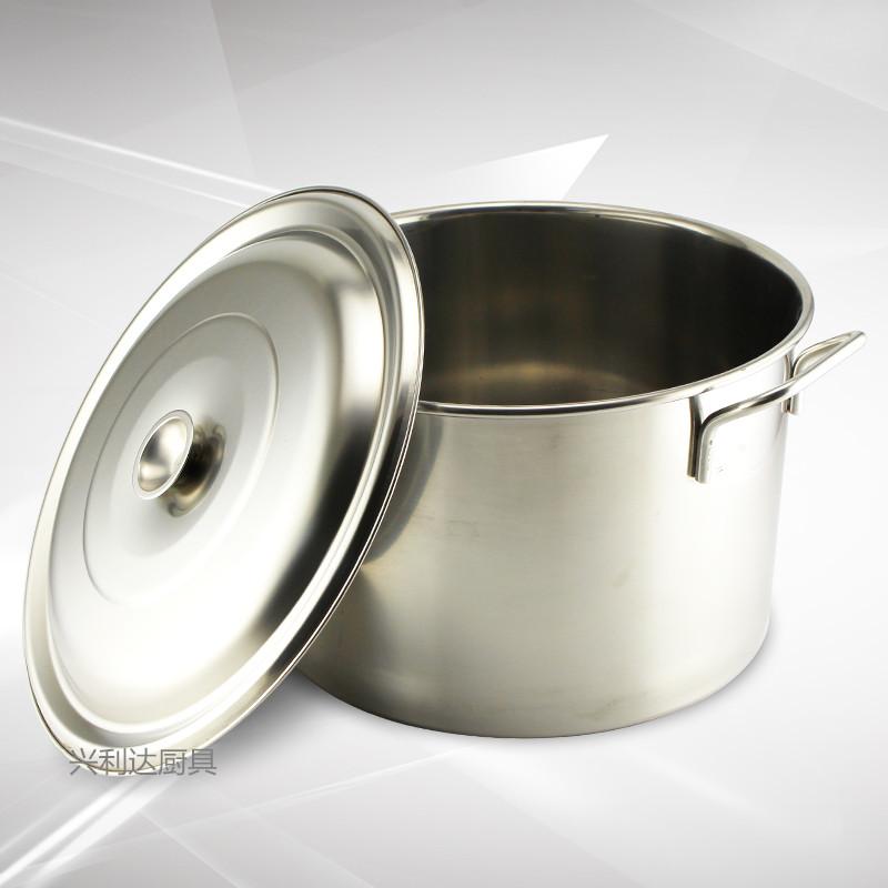 不锈钢商用大汤锅汤桶酒店厨房锅具30月子烧水锅大容量汤煲卤肉锅