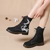 零尚舞度复古中国风绣花短筒棉鞋质量如何?