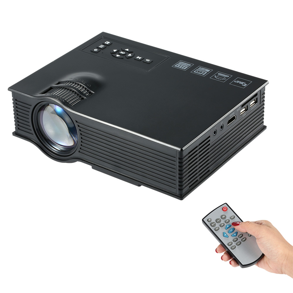 UC40+ LED Mini Projector 800 lumens Home Theater proyector