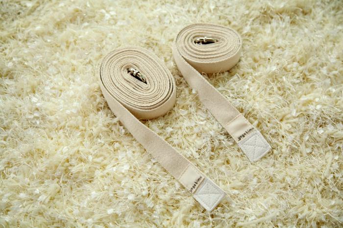 yogatime艾扬格瑜伽辅具 瑜伽绳/ 瑜伽带/伸展带(2.8米长)