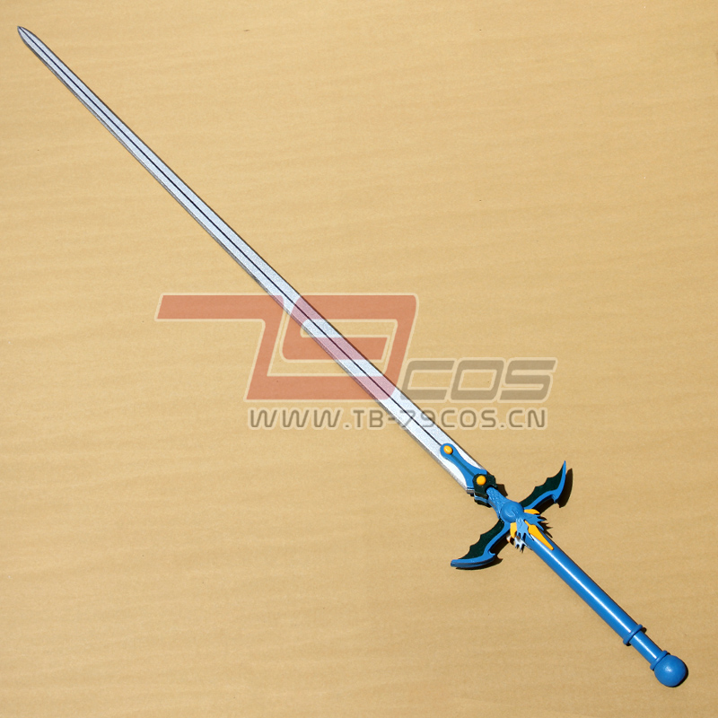 79cos 魔法骑士Magic Knight Rayearth 龙啸海 cosplay 道具定做