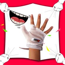 アーティファクト手の親指ブレース子の子供の赤ん坊の子手袋の手のリング赤ちゃんの幼児が手をかむ抗食べます赤ちゃんのハーフフィンガーグローブ子供1-8歳の男の子と女の子手袋ミトンのための暖かい冬の赤ちゃんの保育園