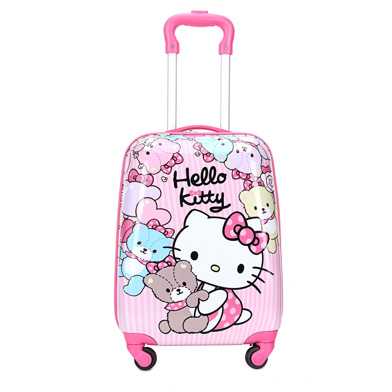 Childrens trolley luggage suitcase 19 inch cartoon case girl Princess 18 inch customized logo universal wheel chassis
