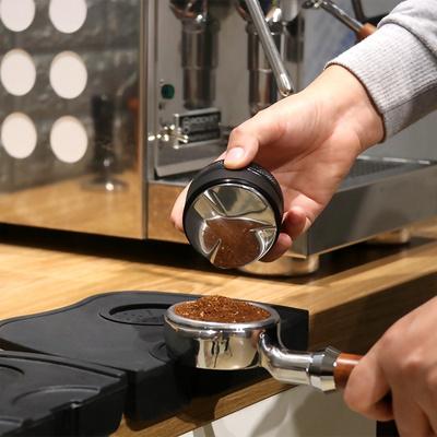 布粉器51mm58咖啡布粉器一字螺纹压粉器套咖啡四桨咖啡机。